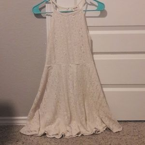 Mossimo beige lace sundress